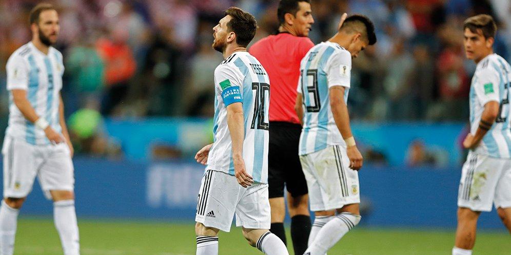 Kekalahan Telak Argentina Atas Kroasia - Tamparan Keras Bagi Sampaoli