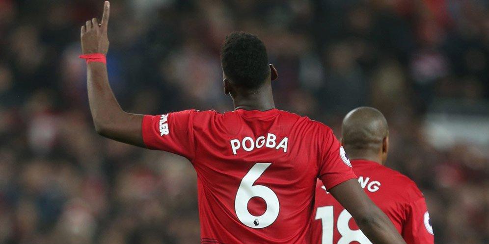 Akhirnya Paul Pogba Kembali Tersenyum