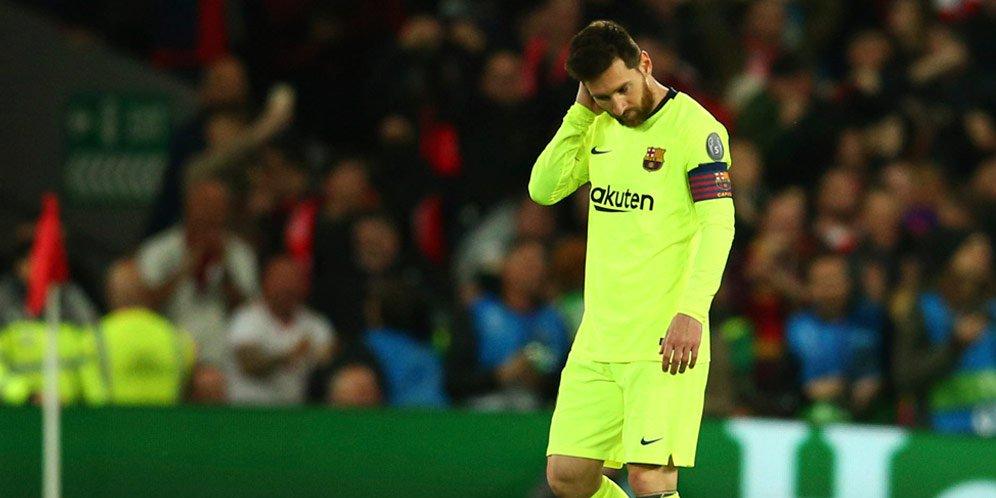 Messi Tidak Bisa Lupakan Kekalahan Atas Liverpool