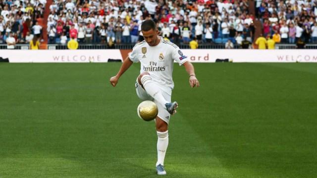 Dilatih Zinedine Zidane, Eden Hazard: Rasanya Seperti Mimpi!