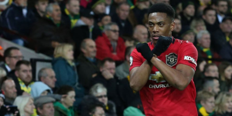 Martial Tukang Gedor Manchester United